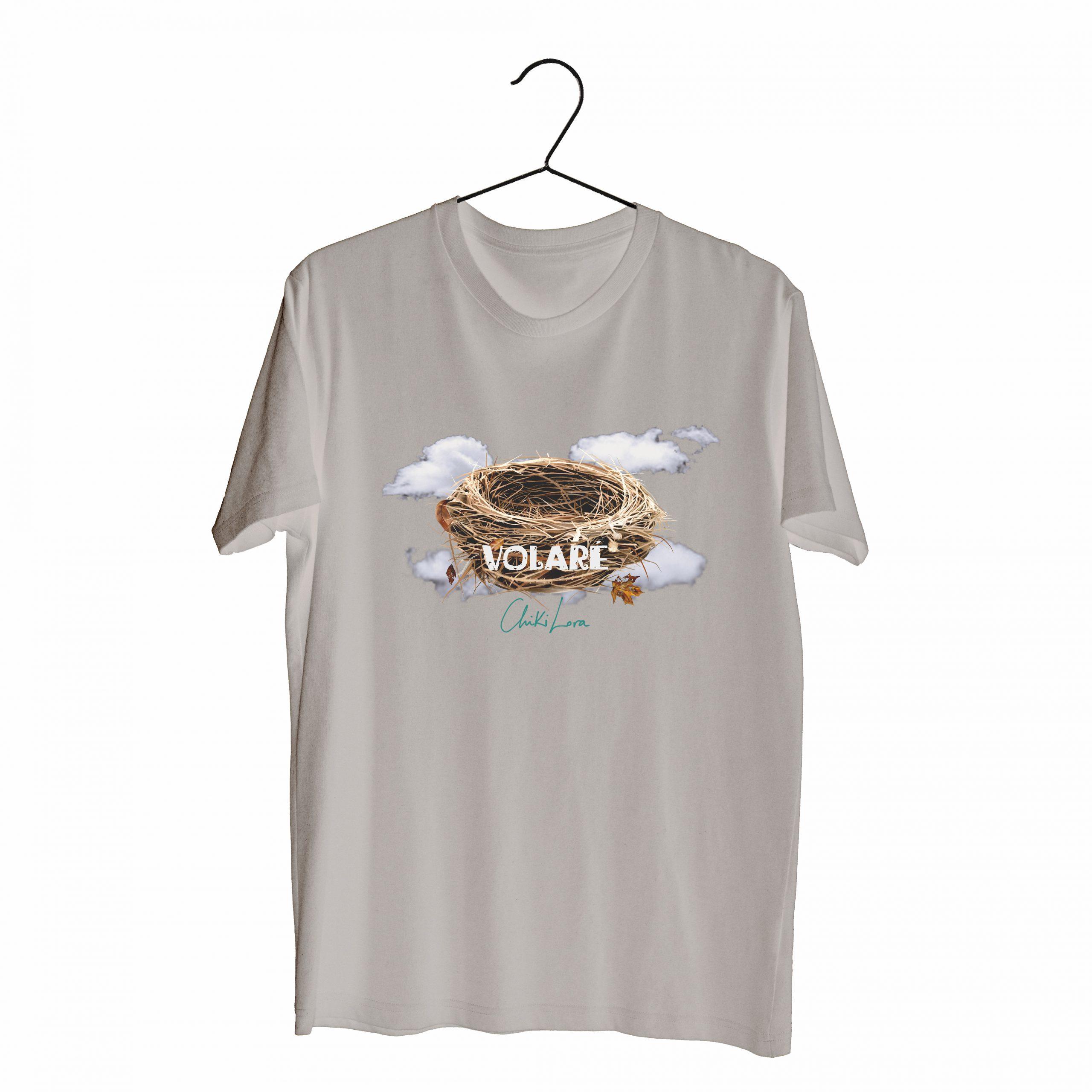 """Camiseta beige """"Volaré"""""""